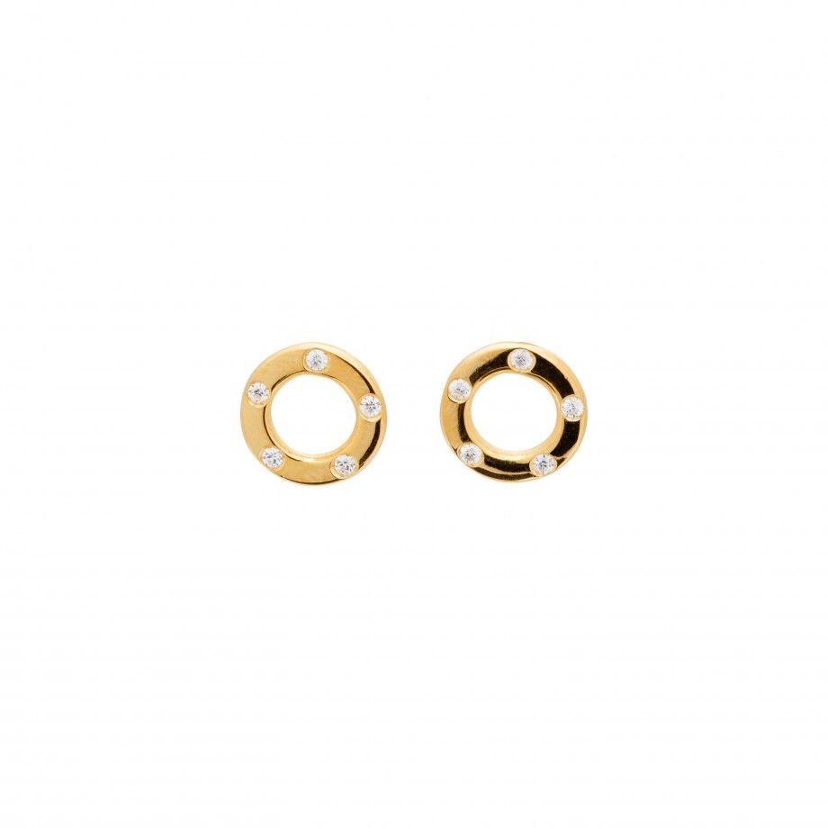 Earrings Bolt Golden