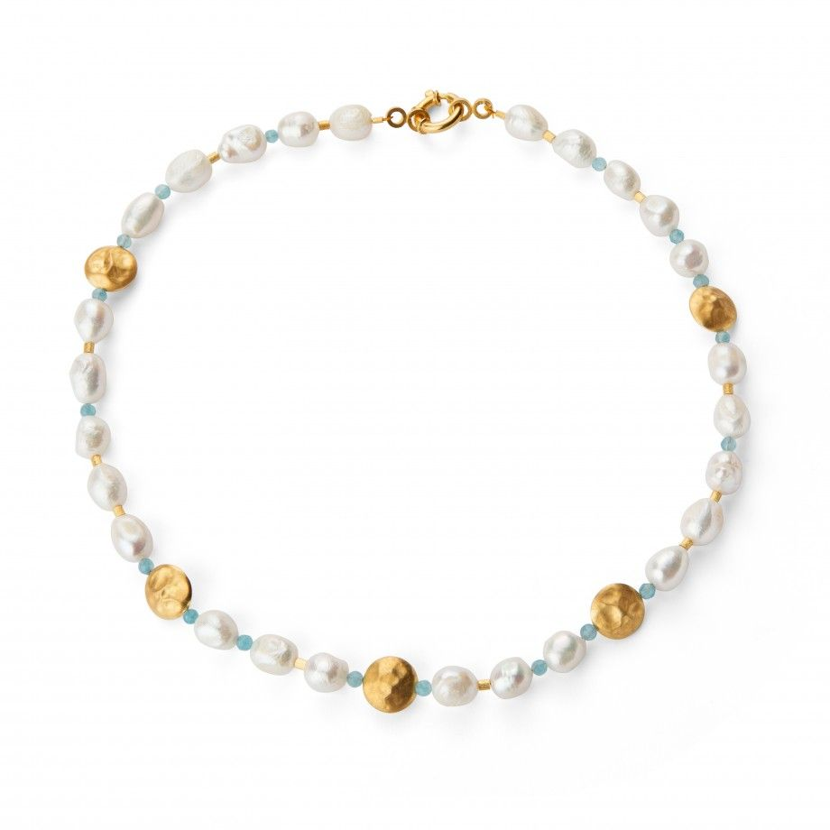 Necklace Pearl - Blue