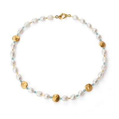 Necklace Pearl Spring Summer