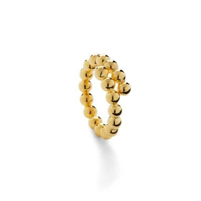 Ring Beads L Golden Rendezvous