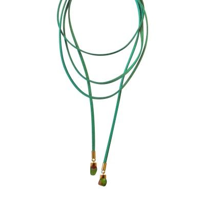 Necklace Green Printemps