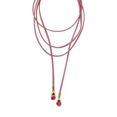 Necklace Pink Printemps