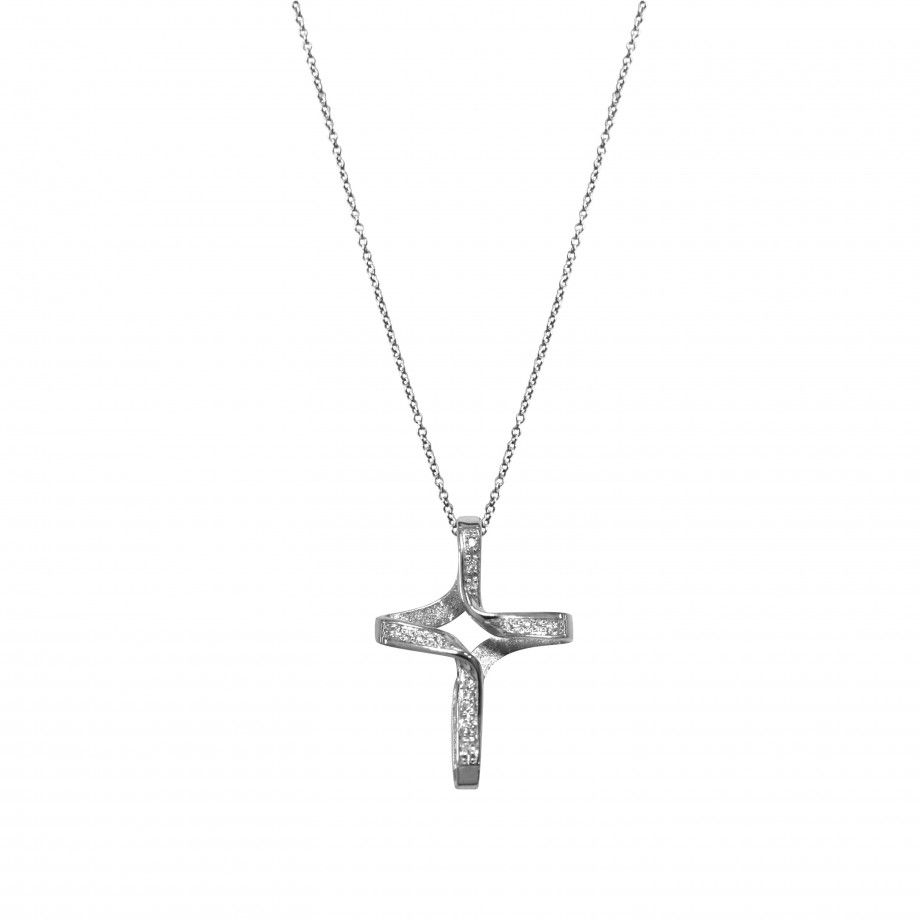 Necklace Cross Divine