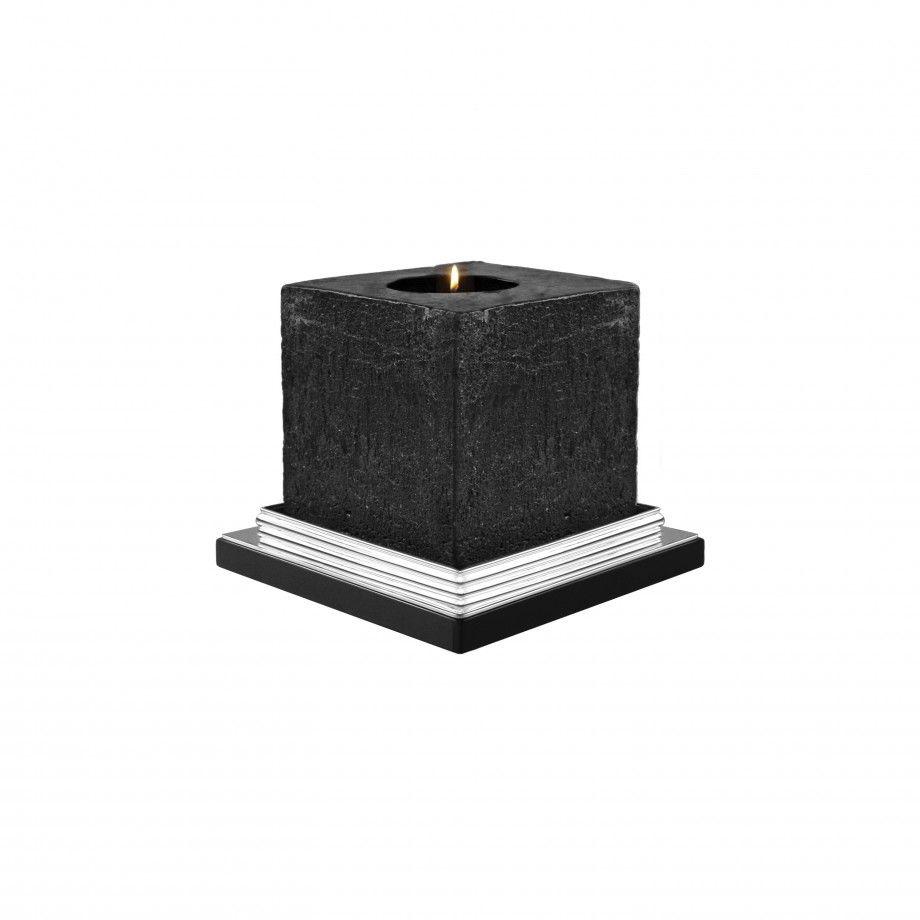 Candle Holder (Wood) Orpheu