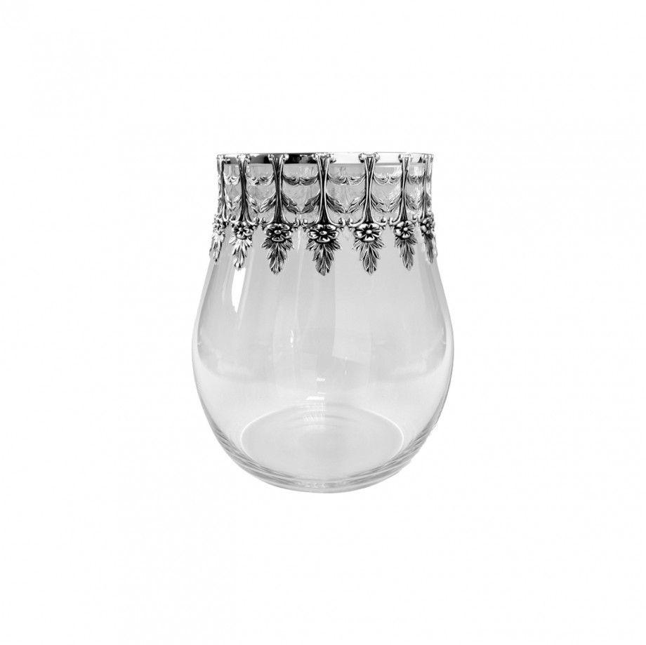 Candle Holder (Glass) Luminária S