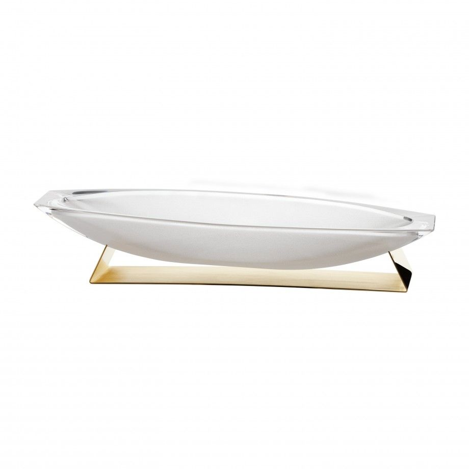 Trinket Tray Boat - Golden
