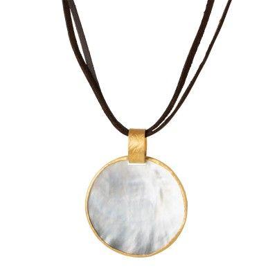 Colar Medalhão Pearl