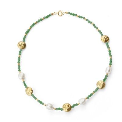 Necklace Pearl - Green