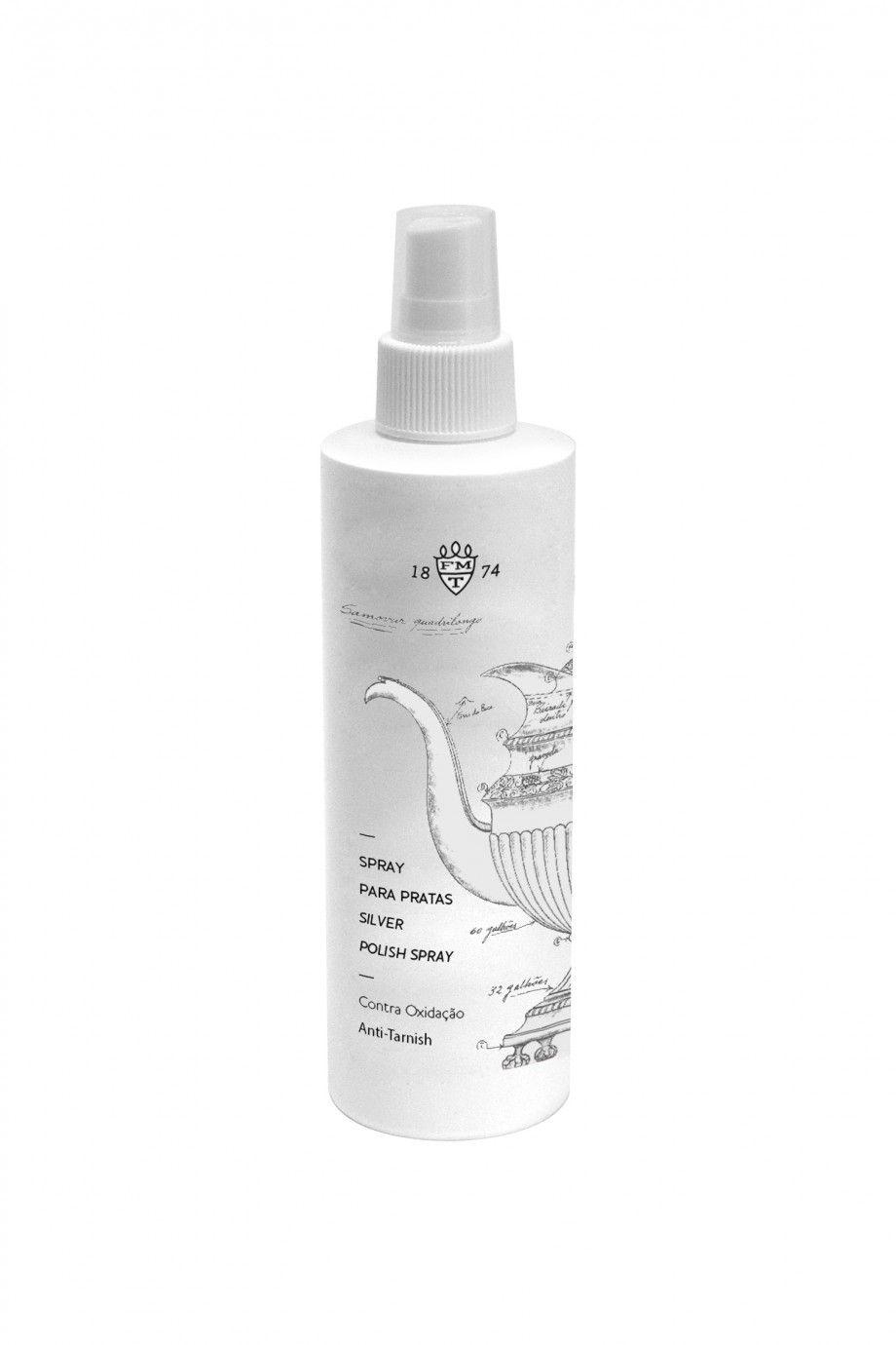 Spray Limpeza Prata