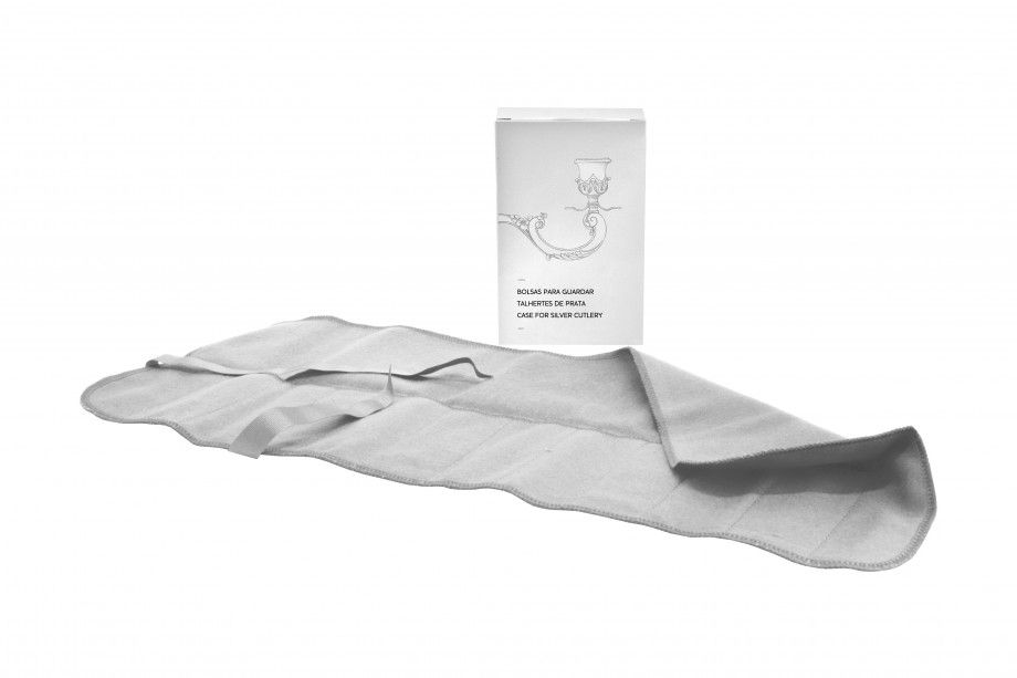 Bolsa p/ talheres Peixe/Sobremesa - 12x21cm