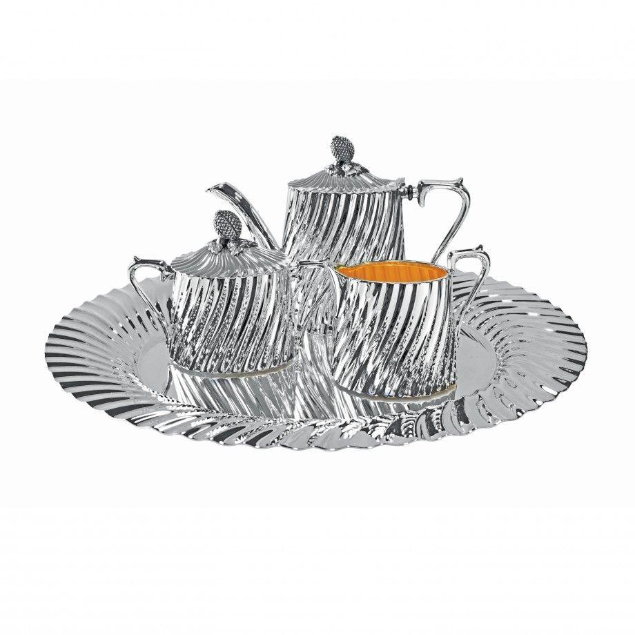 Serviço Chá Café Galhões Torcidos PS