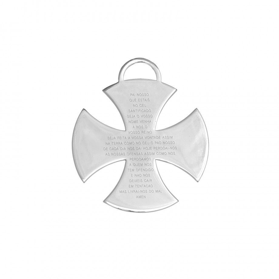 Cross Malta Lord's Prayer Portuguese