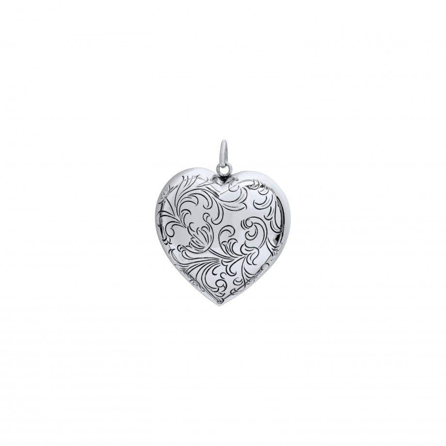 Pendant Engraved Heart