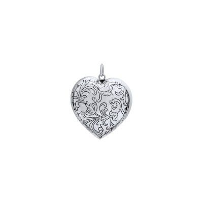 Pendant Engraved Heart