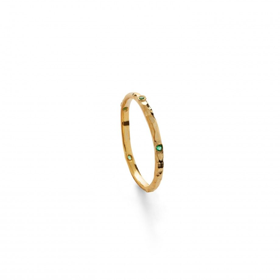 Ring Aline - Green