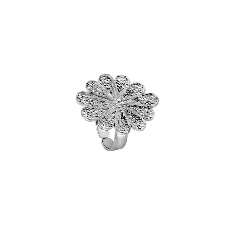 Ring Filigree Flower