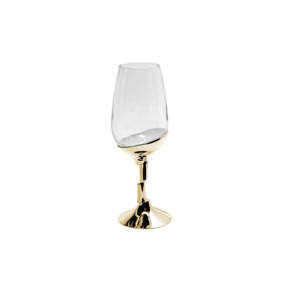 Oport Wine Glass Golden Artica