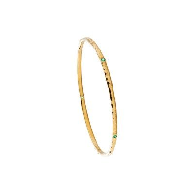 Bangle Aline - Emerald