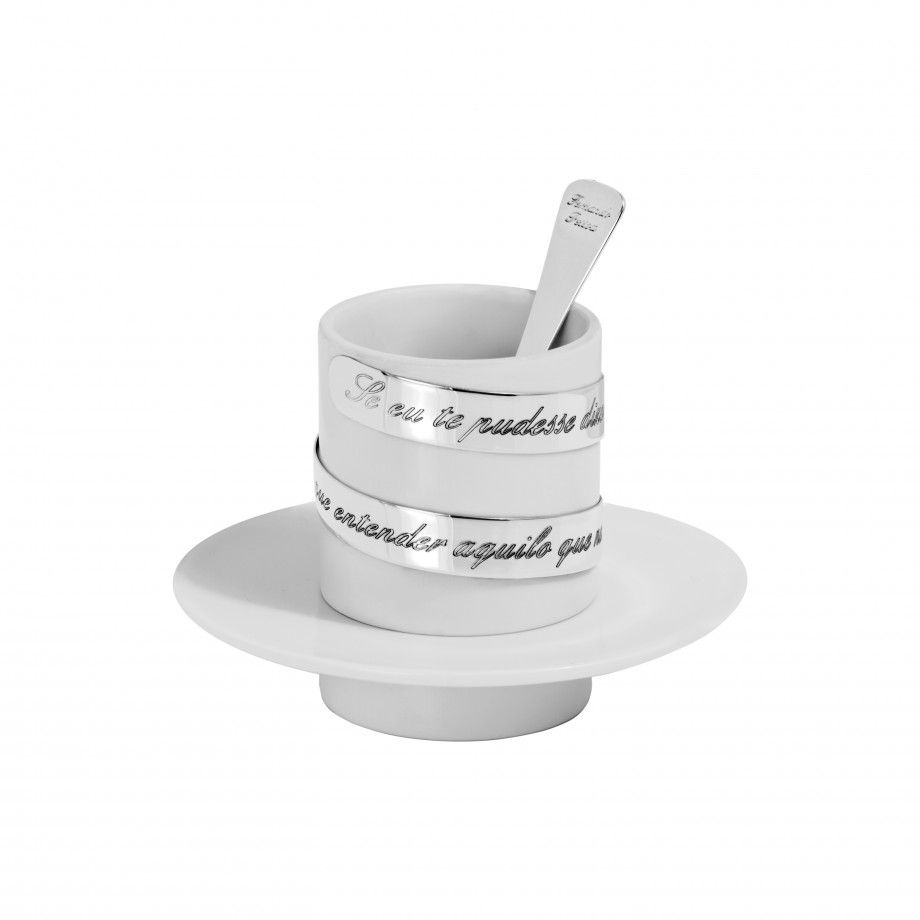 Coffee Cup + Spoon - Florbela Espanca