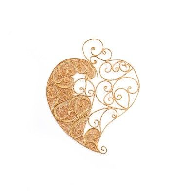 Pendant Heart Filigree