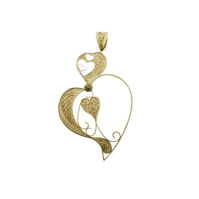 Pendant Double Heart