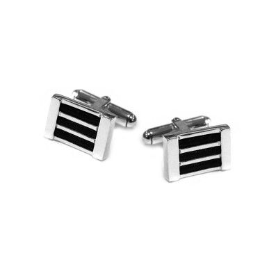 Cufflinks Stripes