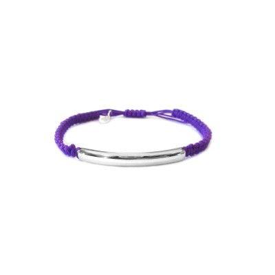 Macrame Bracelet - Purple