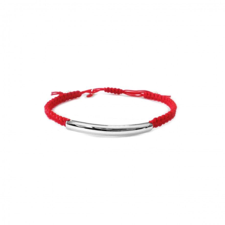 Pulseira Macramé - Vermelho