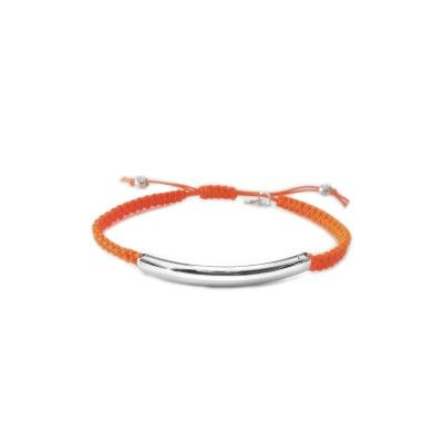 Macrame Bracelet - Orange