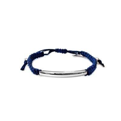 Macrame Bracelet - Navy