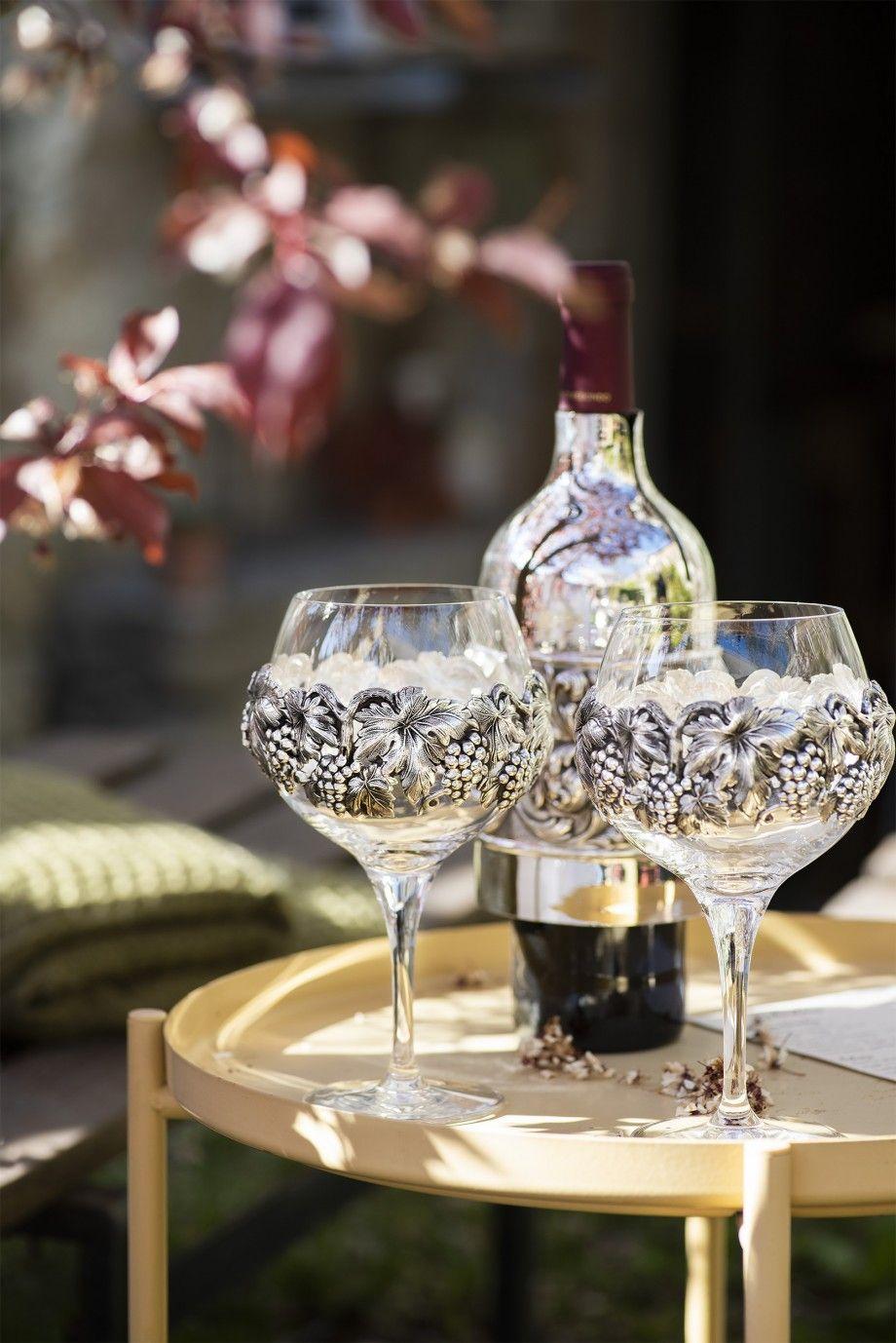 Copo de Vinho Uvas