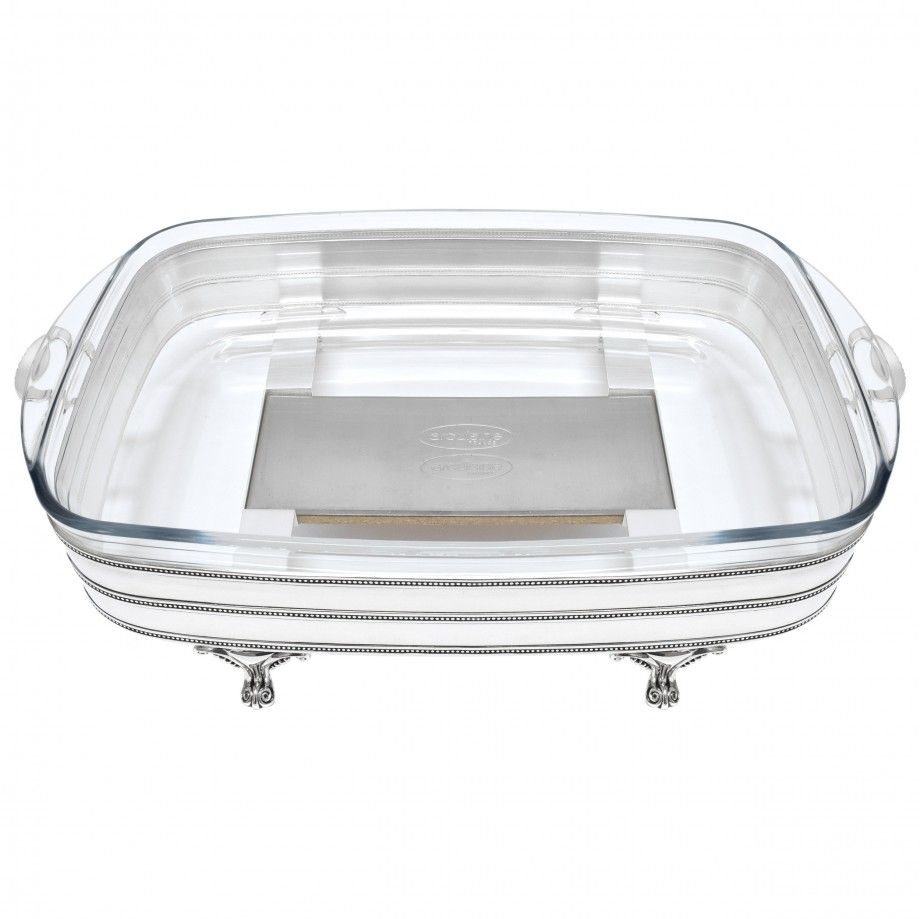 Tray Rectangular w/ Warmer Continhas
