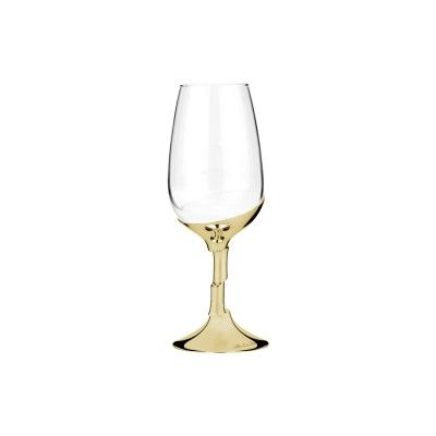 Oport Wine Glass Golden Artica