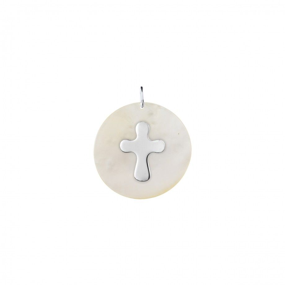 Medal Mother of Pearl Cross