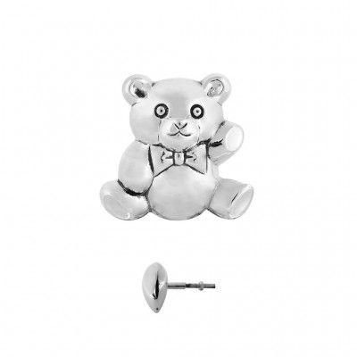 Teddy Bear Handle L Brushed