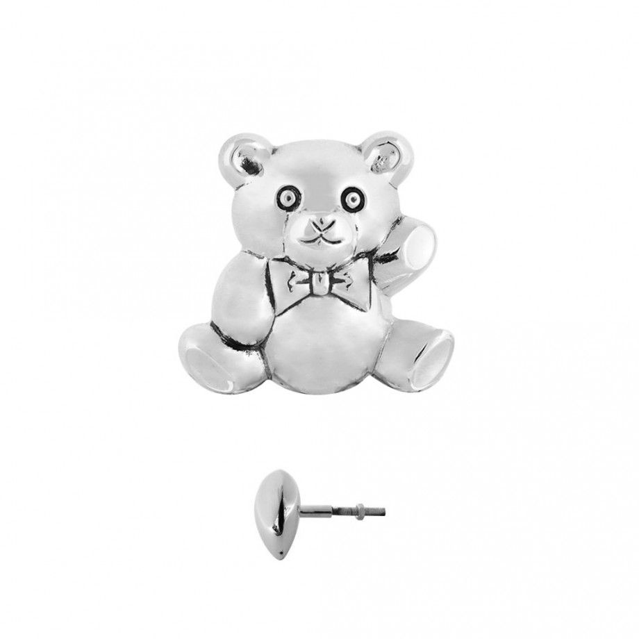 Teddy Bear Handle L Brushed