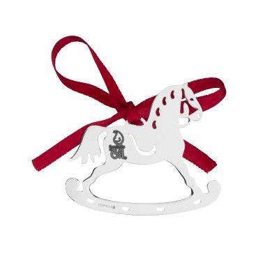 Christmas Ornament Swinging Horse