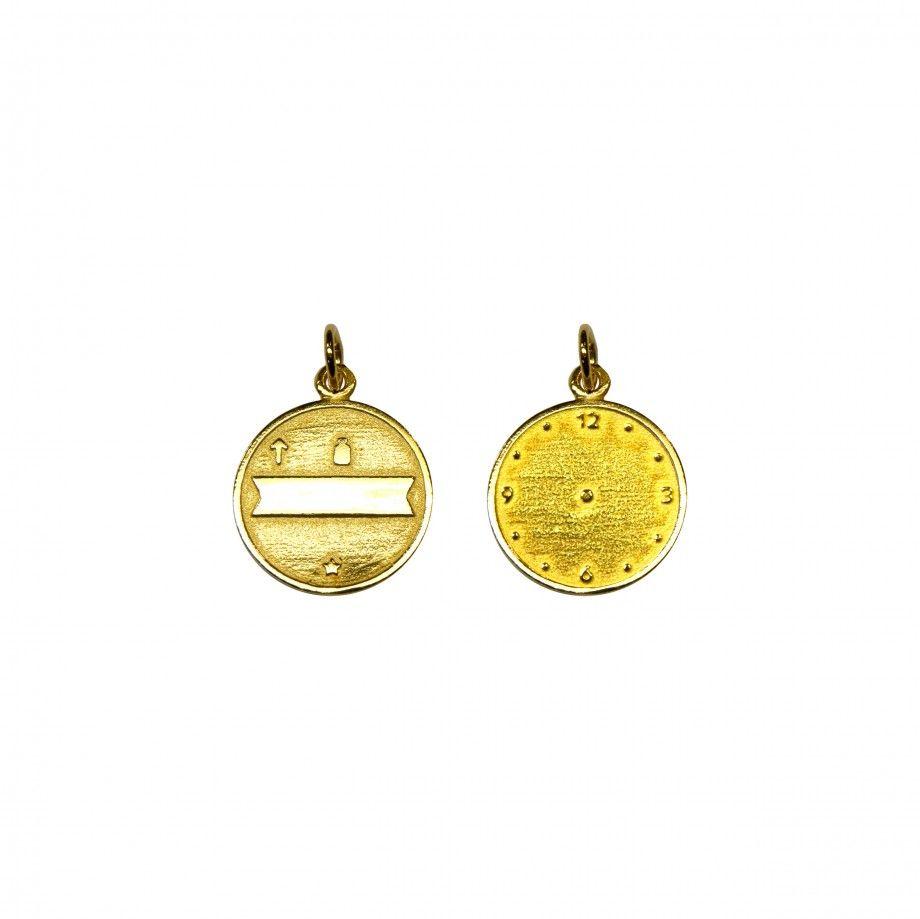 Medalha Nascimento - Dourado