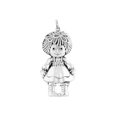 Pendant Rag Doll Girl L