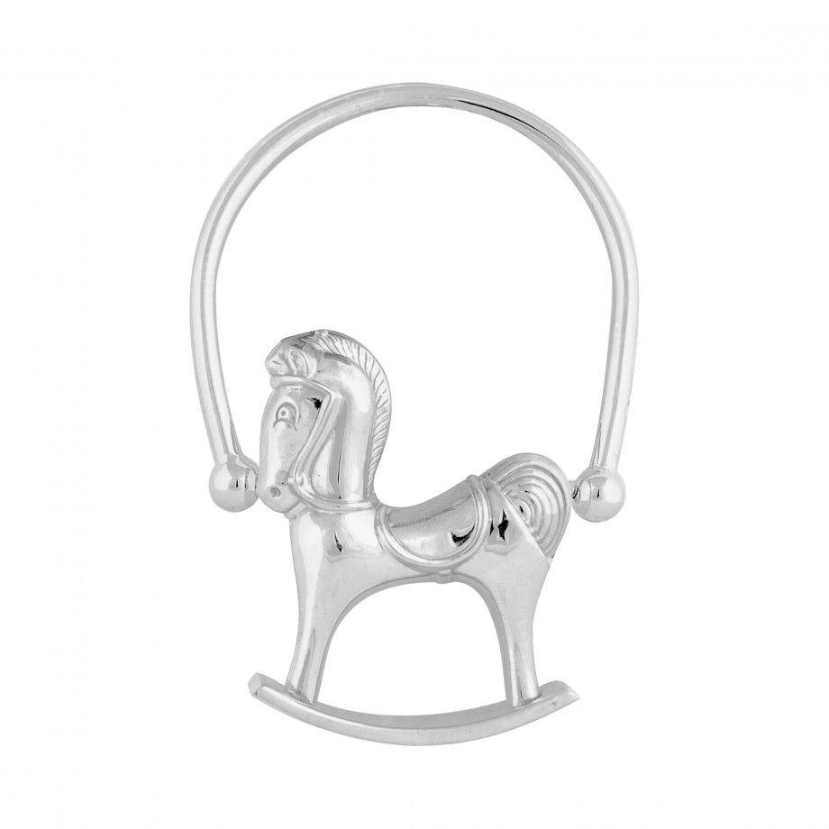 Rotation Rattle Swinging Horse