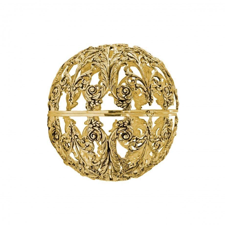 Clutch Leonard Round - Golden