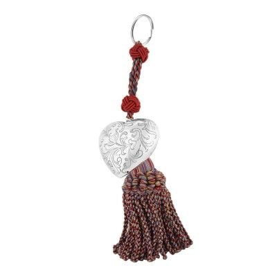 Key Ring Engraved Heart L