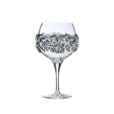 Wine Glass Grapes