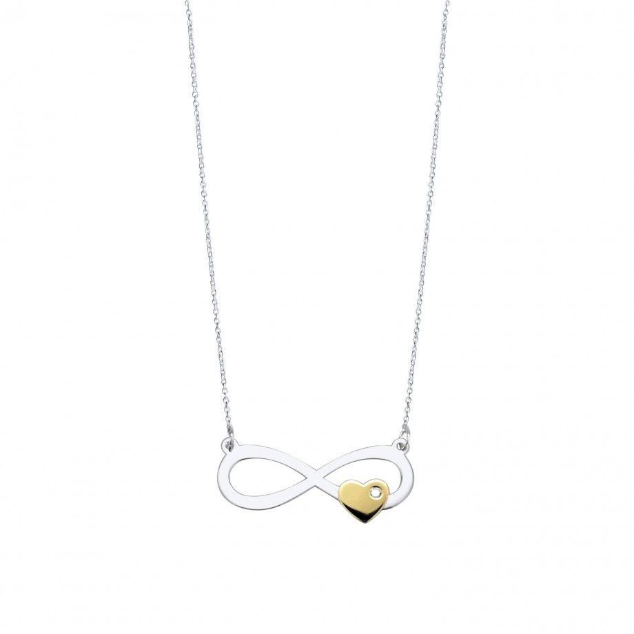 Necklace Infinity Embrace