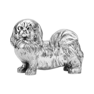 Figurine Pekingese Dog