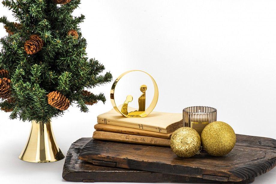 Nativity Scene Nazaré Golden