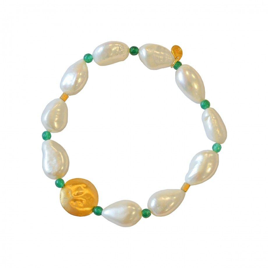 Pulseira Pearl - Verde