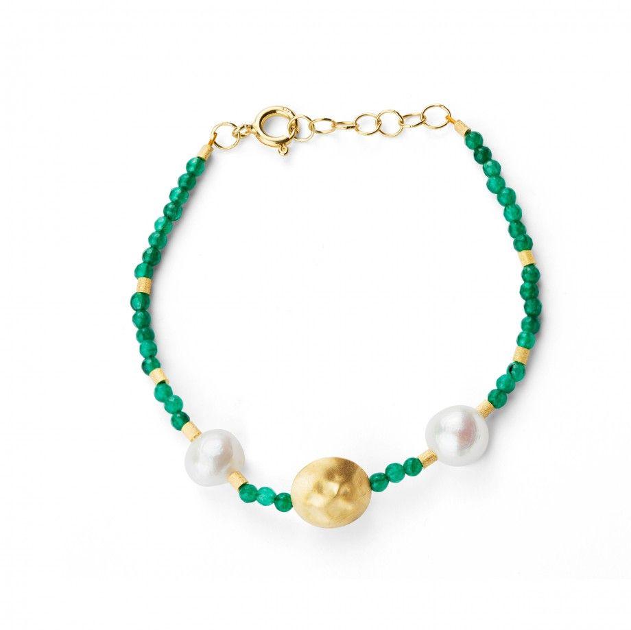 Bracelet Pearl - Green