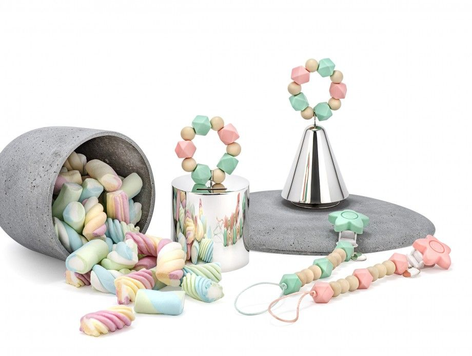 Pacifier Chain Candy - Pink