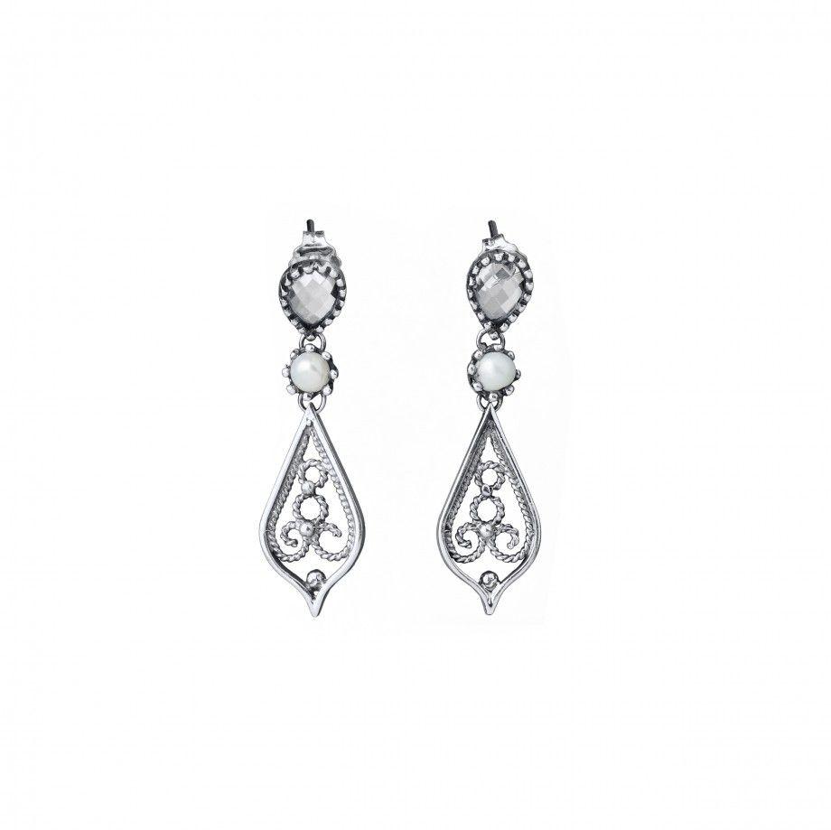 Earrings Mandala Shine